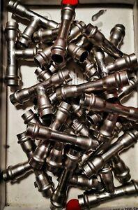 21x SANHA NiroSan-Press T-Stück 15mm reduziert Edelstahl Nr. 9130 Pressfitting