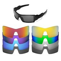 Walleva Replacement Lenses for Oakley Oil Rig Sunglasses - Multiple Options