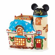 Department 56 Disney's Village Mickey's Candy Shop Lit House Dept NEW