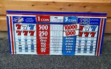 More details for igt 4th of july casino / slot machine glass