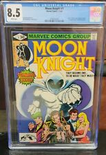 Moon Knight #1 * 8.5 CGC *  NEW CASE!!  NO RESERVE