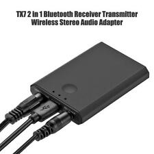 TX7 2 in 1 Bluetooth Receiver Transmitter Wireless Stereo Audio Adapter