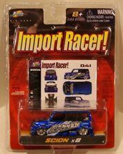 Scion xB Import Racer Jada Toys 2004 Blue GREDDY Tein Kicker