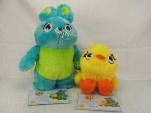 DISNEY PIXAR TOY STORY 4 DUCK AND BUNNY SCENTED TOY PLUSH W CERT OF AUTHENTICITY