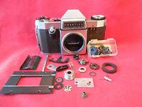 Spiegelreflexkamera PRAKTICA Nova B +Ersatzteile für Basteln Defekt