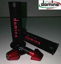 Kit Manopole Domino Racing+Contrappesi UNIVERSALI APRILIA RSV 1000 R Factory