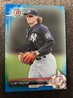2017 Bowman BP16 Blue Parallel Clint Frazier 92/150 New York Yankees