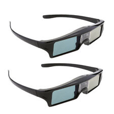 2x DLP LINK Active Rechargeable Shutter 3D Glasses for Benq, Optoma, Acer