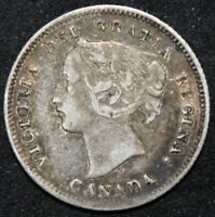 1899 Canada Silver 5 Cents***Collectors***