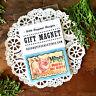 DecoWords Gift Magnet Penny Pincher Piggy Bank MAGNET frugal Money savings