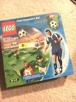 LEGO Field Expansion Set #3410 (Soccer) – New, Unopened in Original Box!