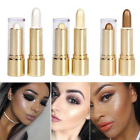 Highlight & Contour Stick Makeup Face Body Concealer Powder Cream Shimmer Beauty