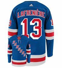 Men's New York Rangers Алексис lafrenière Adidas домой аутентичные хоккей НХЛ Джерси