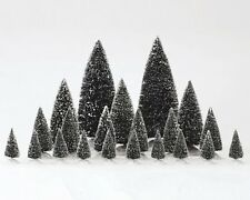 Lemax Christmas Village Collection 21 Piece Assorted Pine Trees