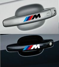 For BMW ///M - 4 x DOOR HANDLE - CAR DECAL STICKER ADHESIVE   - 100mm long