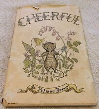 1957 Vintage - Cheerful by Palmer Brown, Harper & Row, Early Edition - VERY RARE