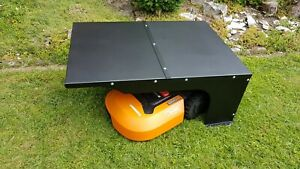 Garage für Rasenroboter Worx Landroid S/M/L Mähroboter Rasenmähroboter Automower