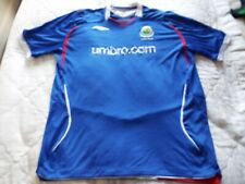 Linfield fc home shirt top Umbro 2008 size- 2XL outstanding condition