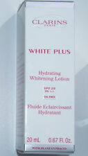 CLARINS WHITE PLUS WHITENING HYDRATING LOTION 5 x 20ml = 100ml BNIB
