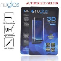 NUGLAS Full Cover Tempered Glass Screen Protector- Samsung Galaxy S8 Plus note 8