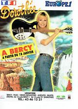 Publicité Advertising 127  1991   concert Dorothée à Bercy & radio Europe 1
