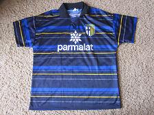 Parma A.C. Parmalat Soccer blue Jersey Size XL