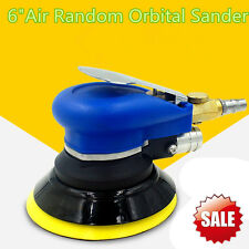Car Auto Buffing Polishing Waxing Kit Air Random Orbit Palm Sander 6'' 5 CFM DA