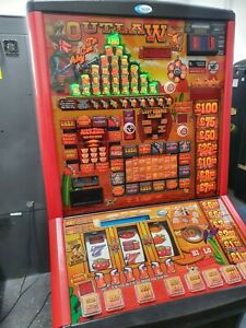 FRUIT MACHINE - OUTLAW TIN CAN ALLEY CLUB - £400 JACKPOT - NEW £1 READY
