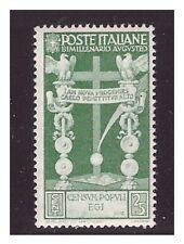 REGNO 1937  -  AUGUSTO   CENTESIMI 25   -  NUOVO *