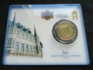 2 Euro Commémorative Coincard Bu Luxembourg 2008