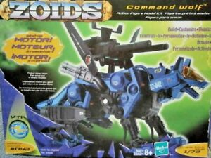 Hasbro ZOIDS COMMAND WOLF AC w/ CP-04 Attack Unit