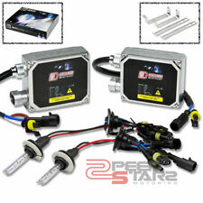 10000K BLUE HID XENON CONVERSION KIT+H7 BULB HIGH BEAM HEADLIGHTS+THICK BALLAST