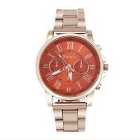 GENEVA Luxury Men Women Quartz Dial Watch Stainless Steel Analog Wrist Watches