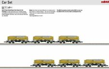 M82434  2014 Dump 6-Car Set with Load Insert of Cement Clinkers (Z Scale)