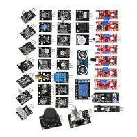 NEW Ultimate 37 in 1 Sensor Modules Starter Kit for Arduino MCU Education User