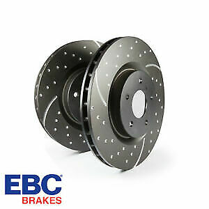 EBC Rear Brake Discs GD Upgrade Turbo Sports discs GD1340 (Pair)