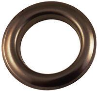"""Curtain Drape Gun Metal Black Grommets Eyelets #12 Inner Diameter 1-9/16"""" Pack"""
