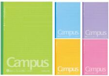 Kokuyo Campus Smooth Writing Notepad Semi B5 A Ruled 7mm 30 Pages 5 Cover Colors