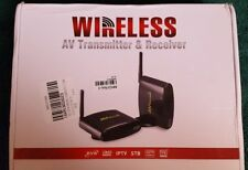 PAT-630 5.8GHz Wireless TV STB AV Audio Video Sender HD DVD Transmitter Receiver