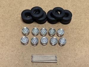 Tekno | 81626 SuperSingle Tyre, Rim DiscBrake And Axle (10pcs)