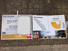 NETGEAR MODEM ROUTER WIRELESS G 54 ADSL2 DGB111G