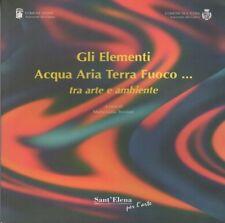 Gli elementi Acqua Aria Terra Fuoco … tra arte e ambiente.