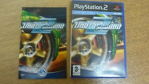 PLAY STATION 2 NEED FOR SPEED 2 UNDERGROUND DVD CASE ONLY #1195