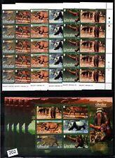 /// 5X GIBRALTAR - MNH - ANIMALS - PANDA - ELEPHANT