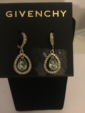 $45 Givenchy Havasu Goldstone Orbital Drop Earrings #734B