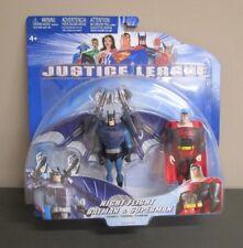 Night Flight Batman and Superman 2003 JUSTICE LEAGUE 2 Pack Mattel MOC
