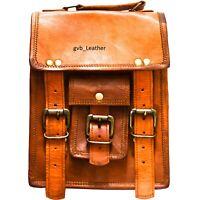 Leather Vintage Bonafide Brown Messenger Bag Shoulder Laptop Bag Briefcase
