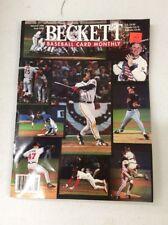 Beckett Baseball Magazine Monthly Price Guide WORLD SERIES JANUARY 1996