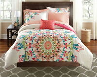 Queen King Bedding Set Bohemian Medallion Comforter Women Teen Moroccan Twin Ful