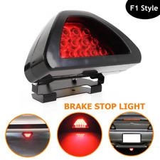 Universal F1 Style Brake Stop Light 3rd Red Strobe Safety Fog Lamp For Pickup RV